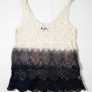 American Eagle Outfitters XS .Crochet tank Top XS
